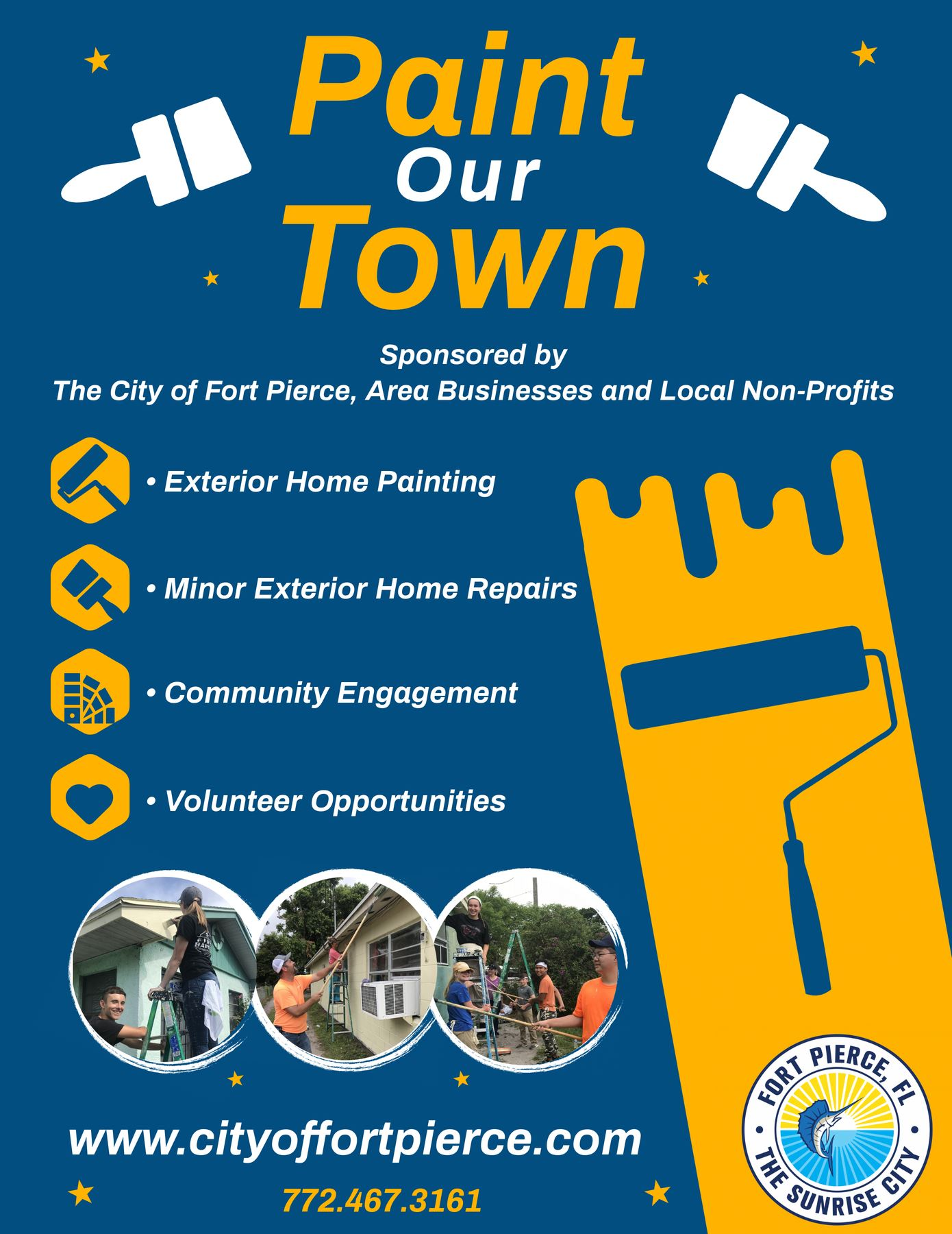Paint Our Town Flyer 2020