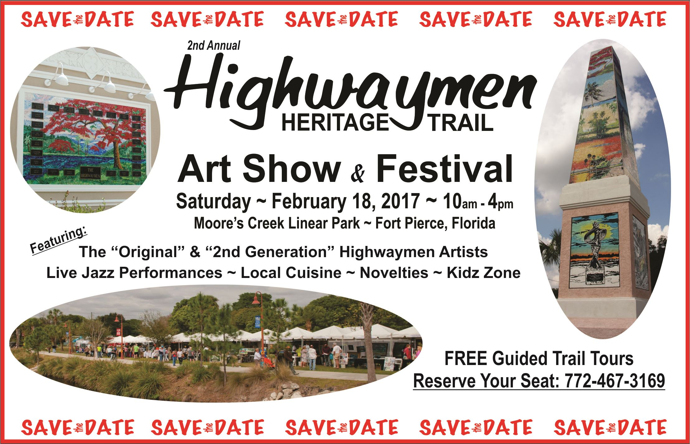 Save the Date - Highwaymen 2017