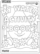 My water activity book
